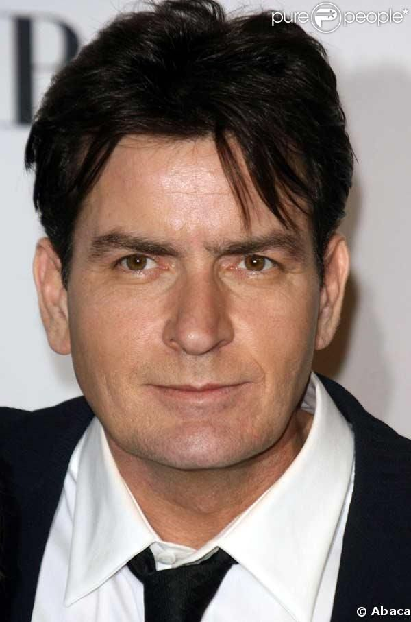 charlie sheen  messed up but cute