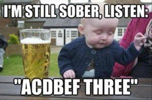 2 drunk baby meme