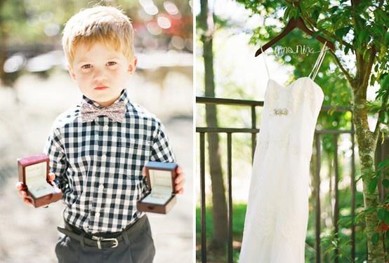 ring boy, so precious.