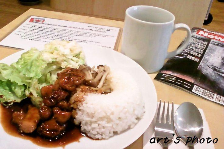 カフェメニューの変更第一弾 - ランチプレートにスープ付きサービス開始! - 東京田町の英語学校English Plus英語講師arataのブログ