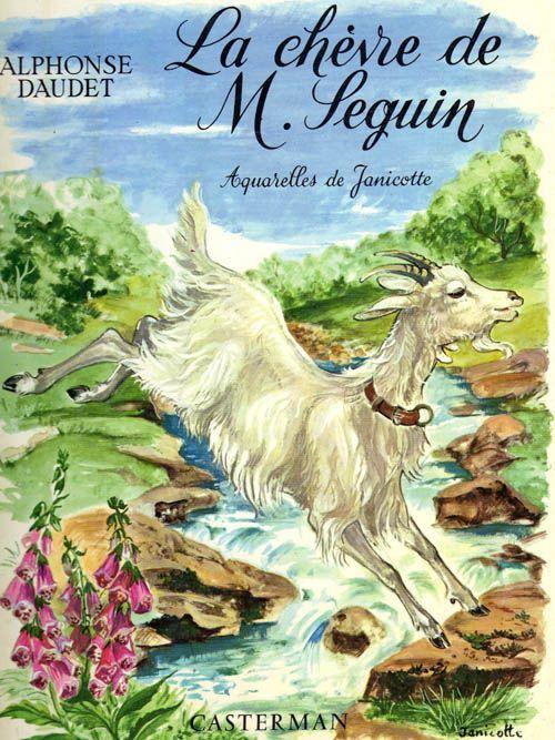 """La Chevre De Monsieur Seguin Â?"""" Aquarelles De Janicotte de Daud"""