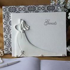 Gæstebog - $23.99 - Bruden og brudgom Design Resin 144 kr