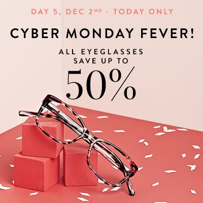 Day 5 of our Fab 5 Days of Savings! Enjoy up to 50% off all frames. http://www.bonlook.com/promo/cybermonday2013  #BonLook #BonLookBlog #Thanksgiving #CyberMonday #BlackFriday #Fab5DaysofSavings