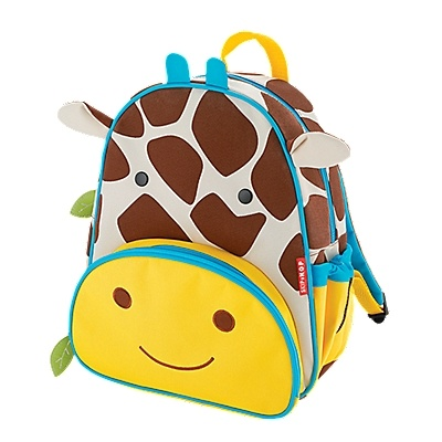 Little kids love (and need) backpacks, too!