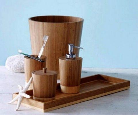 M s de 25 ideas incre bles sobre accesorios de ba o de for Accesorios bano bambu