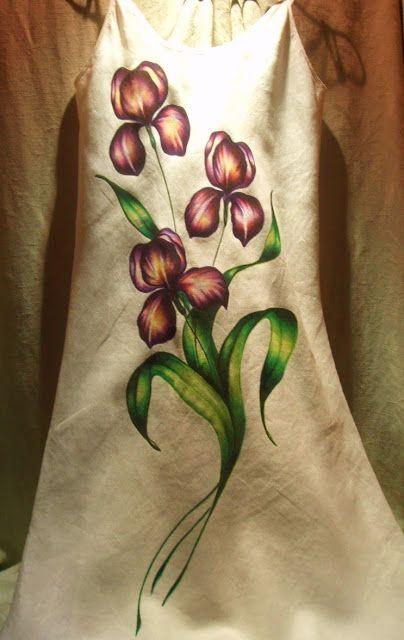 Artesanía y Diseño Adagio : Vestidos pintados a mano