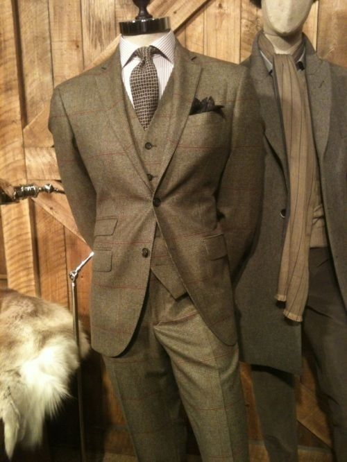 Hackett 3 pc. men's suit    ᘡղbᘠ