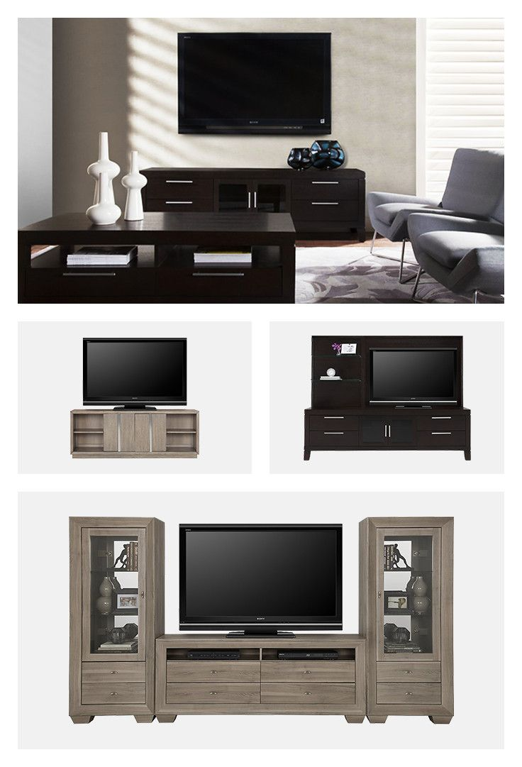 From sporting events to movie nights, home is where family time happens. Keep your living room modern and classy with Adele and Encore entertainment walls.