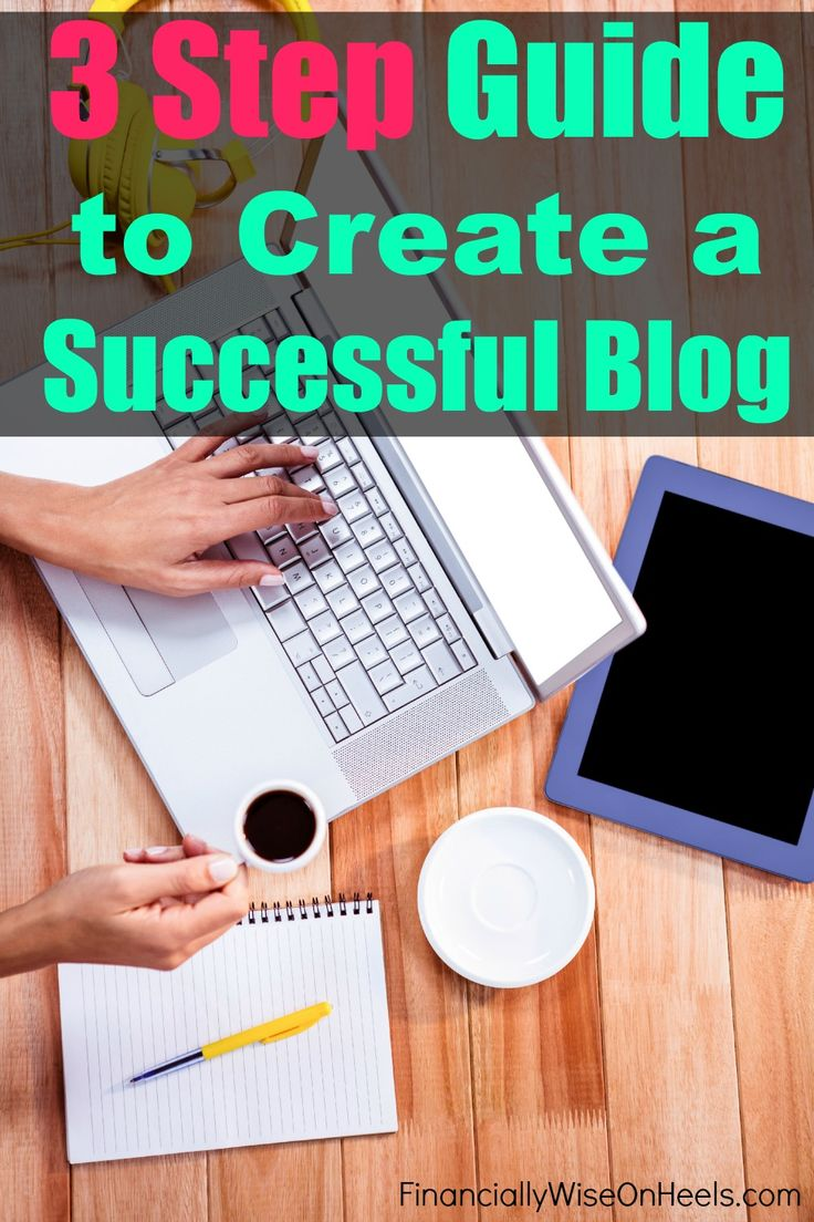 Would you like to create a successful blog too? Let's do it! I'll show you how! This 3 step guide walks you through step-by-step how to start a blog, how to get traffic and how to set up a newsletter. http://www.financiallywiseonheels.com/create-a-successful-blog/