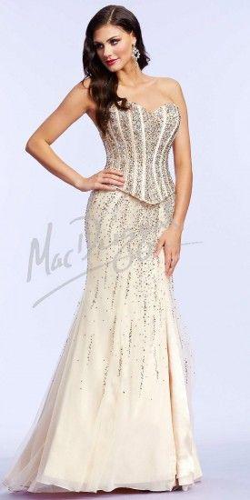 Elsa Corset Prom Dresses by Mac Duggal #edressme