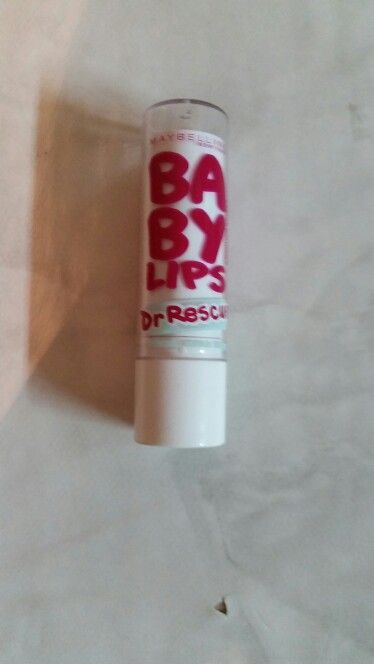 Mabelline new yourk baby lips dr. Rescue mentol