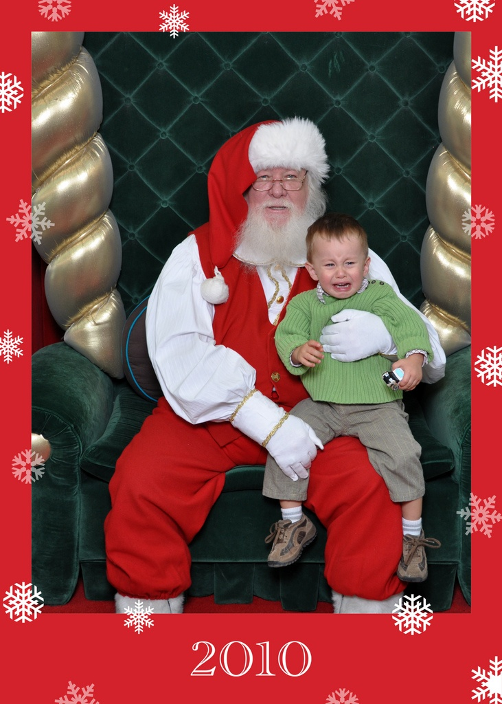 Adverse reaction to Santa
