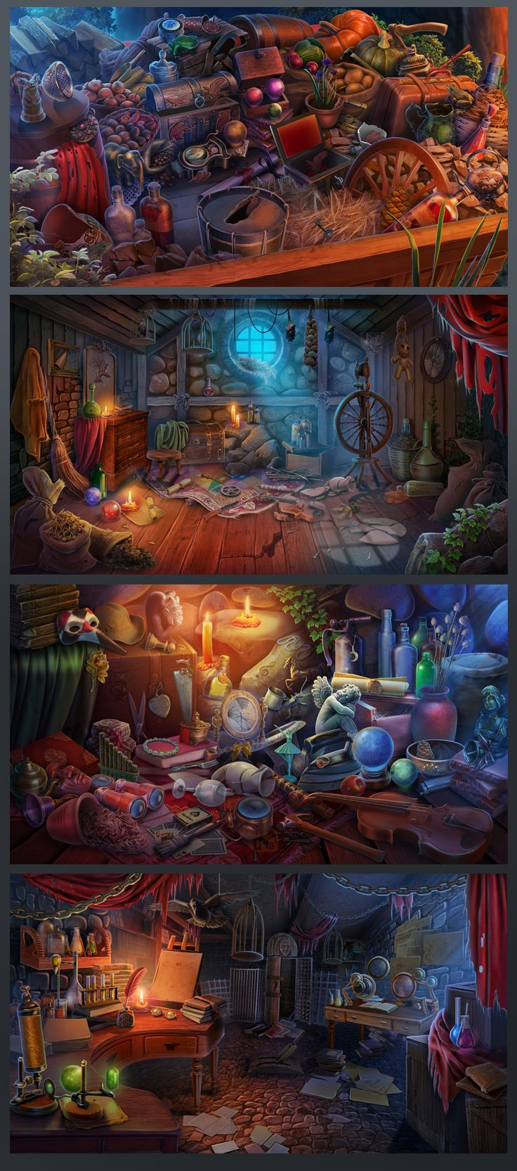 Hidden Object game on Behance