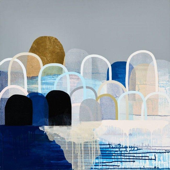 Antoinette Ferwerda Limited Edition Print - Ocean Hills