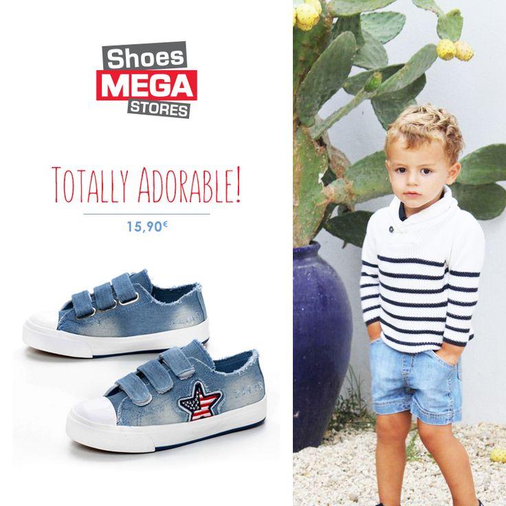 Πιο καλοκαιρινά, πιο μοδάτα και πιο αξιαγάπητα δε γίνεται! #shoesmegastores #boy #sneakers #fashionable