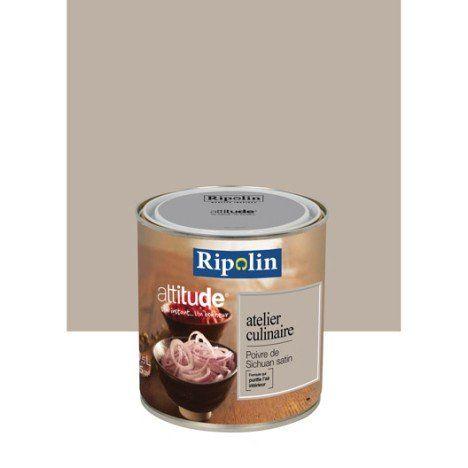 Peinture poivre du sichuan  RIPOLIN Attitude atelier culinaire 0.5 l
