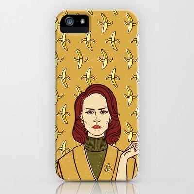 Lana Banana / American Horror Story: Asylum iPhone & iPod Case by Lauren C Skinner - $35.00