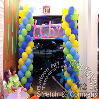 17 best images about stretch company balloon art for Balloon decoration companies