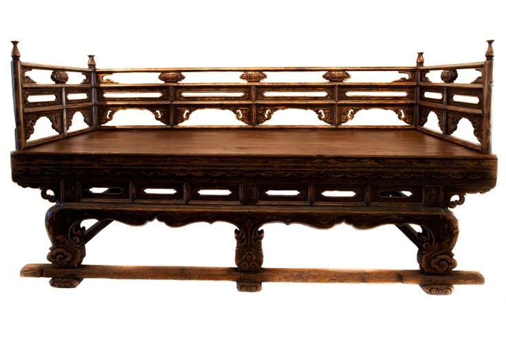 250 year old OPIUM BED | antique - DaDe ART & DESIGN LAB - Art, Furniture & Design Gallery | Calgary