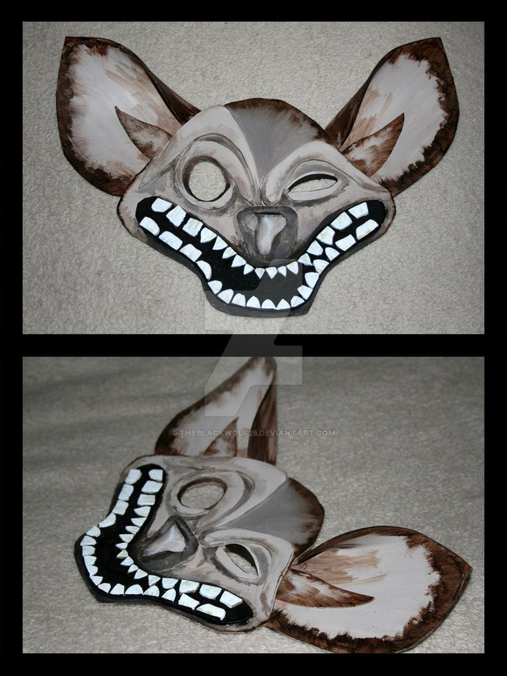 So hey, guess what, I made a hyena. Yup. I guess you could say I'm on a roll. I didn't really know what I was ding so this took all day to make, but I think it was a success. I again based it off o...