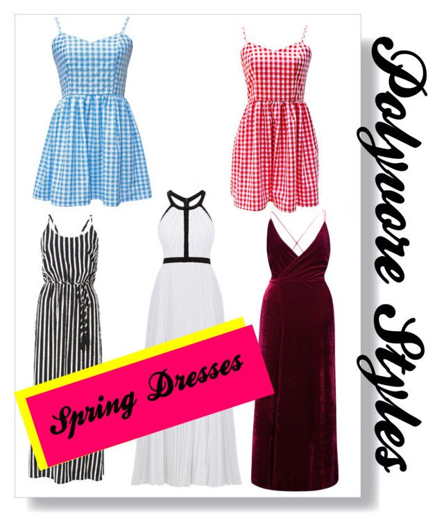 """""""Polyvore styles, spring dresses"""" by russell-mina on Polyvore featuring Witchery, Nicole Miller and WithChic"""