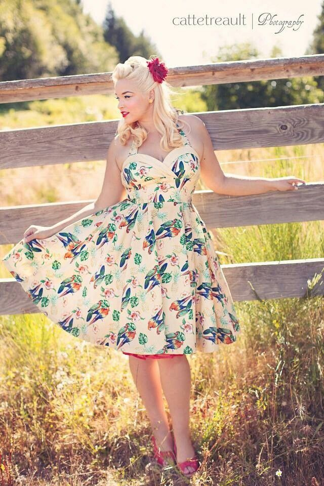 Cute plus size summer dress