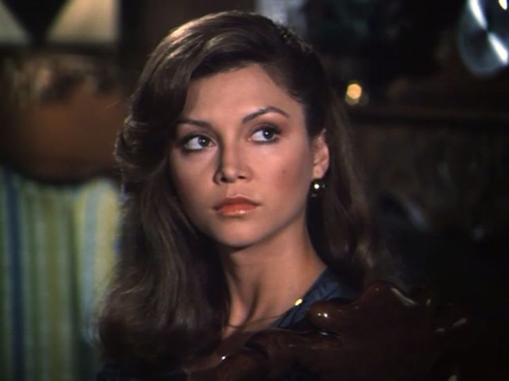 Pamela Ewing. By the look on her face I'd say J.R. just walked in.