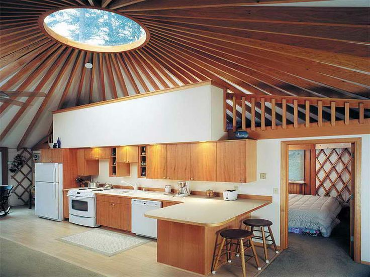 20 best house images on pinterest country living yurts for Yurt interior designs