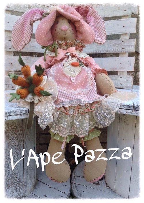 """Cartamodelli primavera 2015 : Cartamodello coniglia """"Sophia"""""""