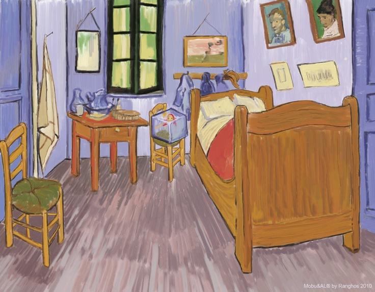 MobuART: La camera di Mobu / Mobu's bedroom