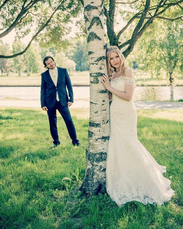 Dreams really do come true ❤ #ido #ourfairytale #inthefairytaleforest #finland #weddingphotography #weddingideas #summerwedding #iloveyou #wedding #togetherforever #nowandforever #lovetobeyours #husbandandwife (photo: jussijeremiaphotography)