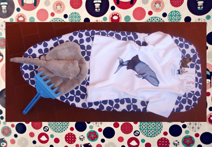 T-shirt balena - serie Nice Animals