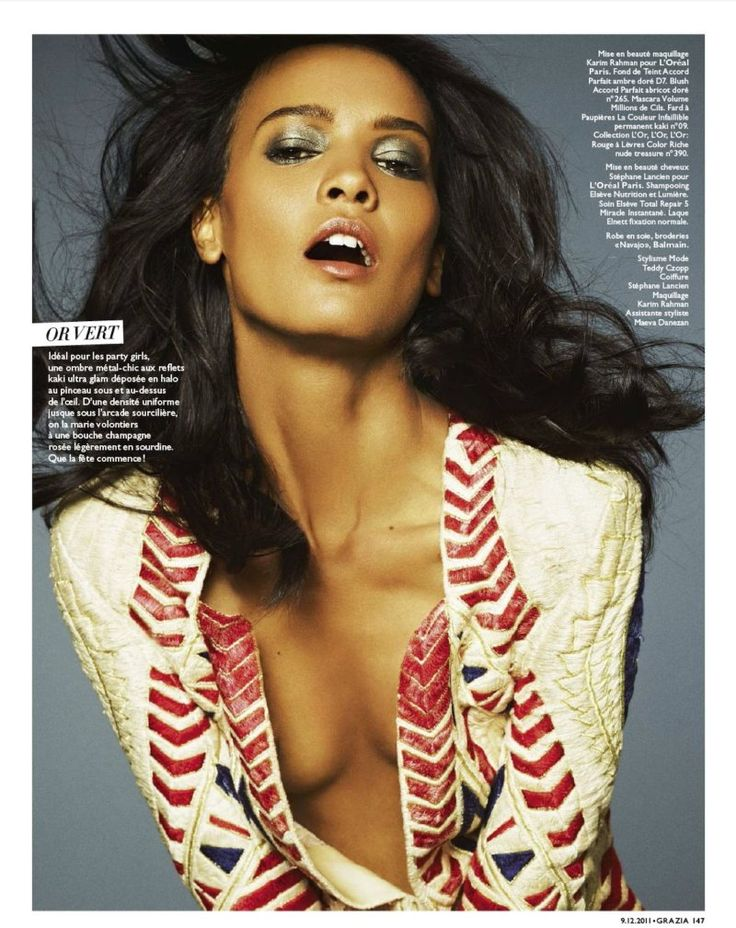 Liya Kebede for Grazia France by Rafael Stahelin