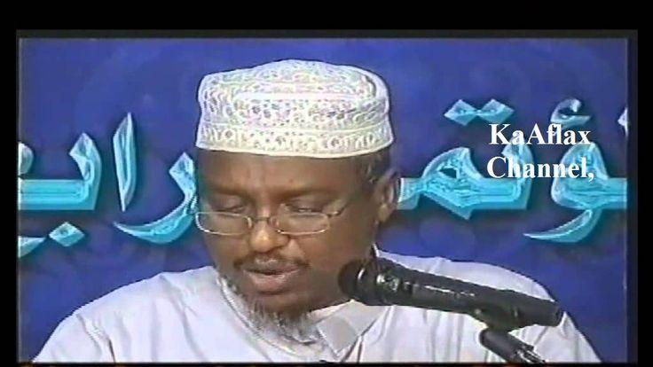 DHIBAATADA HAYSATA DHALIYARDA QURBAHA Sh. Mustafe Xaaji Ismail