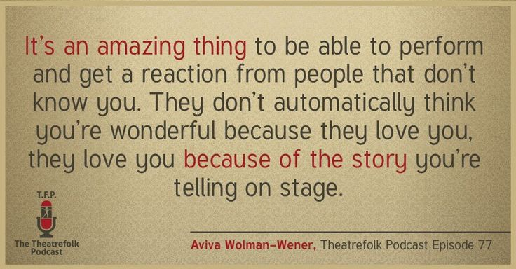 Quote from ~Aviva Wolman-Wener on this week's podcast #quote