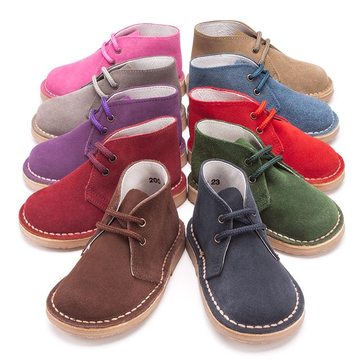 "Botas Safari ""Pisacacas"" con cordones. #desertboots #boots #bottessafari #botassafari"
