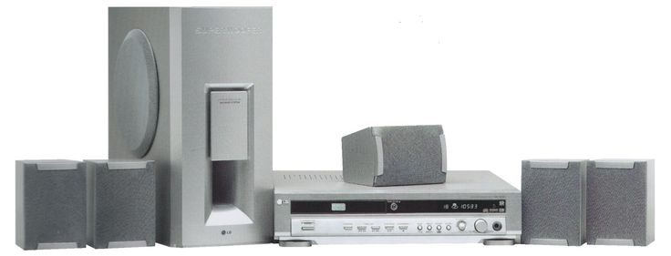 Lg dvd home cinema system model da-3520