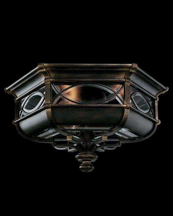 FA 611682 Fine Art Lamps Warwickshire Outdoor Flush Mount $780.00