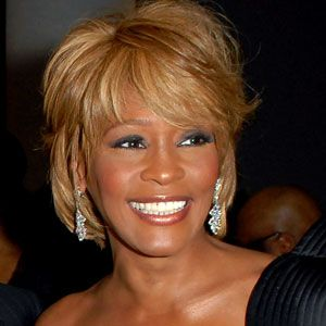 One of the greatest voices of all time...  Whitney Houston... RIP