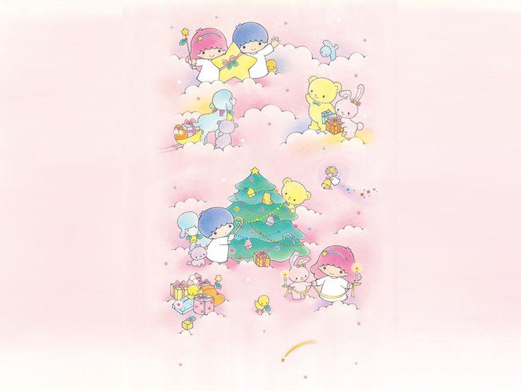 Little Twin Stars Wallpaper 2014 十二月桌布 日本草莓新聞