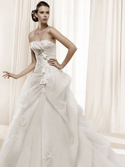 26 best Ball Gown Wedding Dresses images on Pinterest | Short ...
