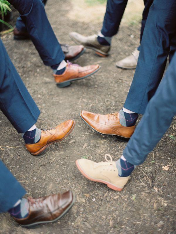 navy blue groomsmen looks #wedding #menswear