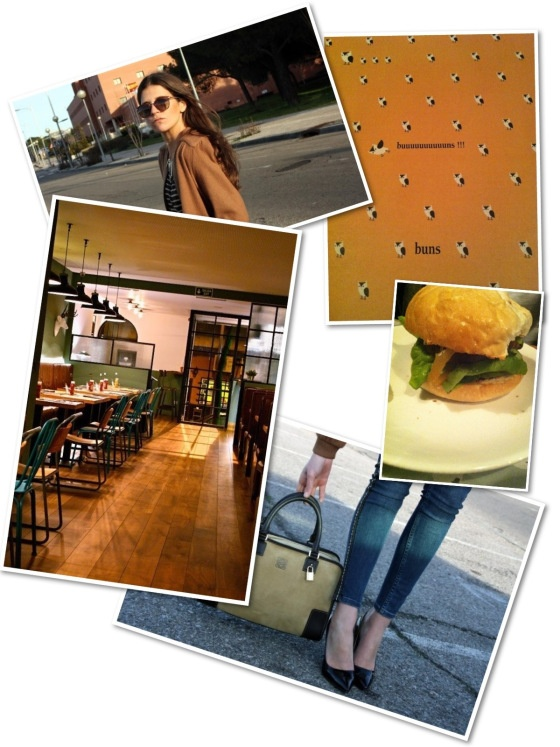 #sensitivetobeauty #look #streetstyle #fashion #restaurant #vintage #madrid #architecture #interiorism #buns #hamburguesas #gourmet