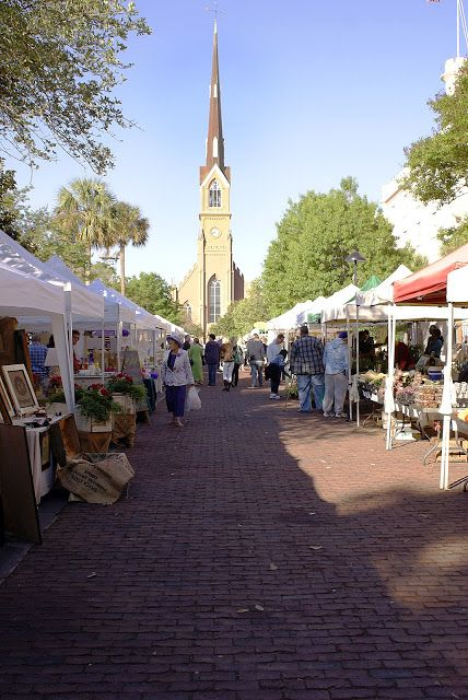 Ranked as one of the top five farmers markets in America by Travel and Leisure Magazine, the Charleston Farmer's Market combines local (almost) everything and the beauty of downtown. I know I sound like a commercial, but I can't think of a better way to spend a Saturday morning than in the sunshine in Marion …
