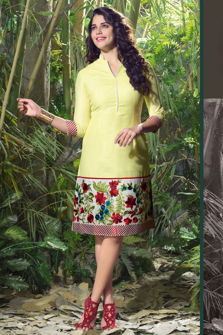 #party #kurtis @  http://zohraa.com/yellow-linen-kurti-z1914p120-16.html #partykurtis #celebrity #zohraa #onlineshop #womensfashion #womenswear #bollywood #look #diva #party #shopping #online #beautiful #beauty #glam #shoppingonline #styles #stylish #model #fashionista #women #lifestyle #fashion #original #products #saynotoreplicas