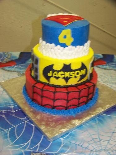 So appropriate!: Interesting Photos, Names, Super Hero Cakes, Cakes Lady, Photos Tags, Batman, Superhero Cakes, Heroes Parties, Super Heroes Cakes
