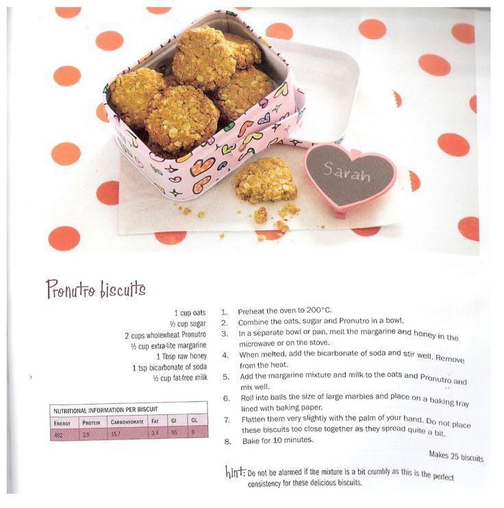 Pronutro biscuits - Simple, Fabulous Lunchbox Ideas | Leanne Katzenellenbogen, Registered Dietitian