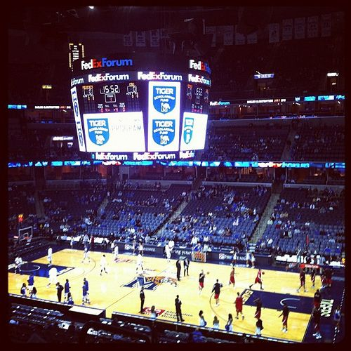 Memphis is a basketball town, and there's no better place to catch a game than the FedExForum. See the University of Memphis Tigers or the NBA Grizzlies in action.