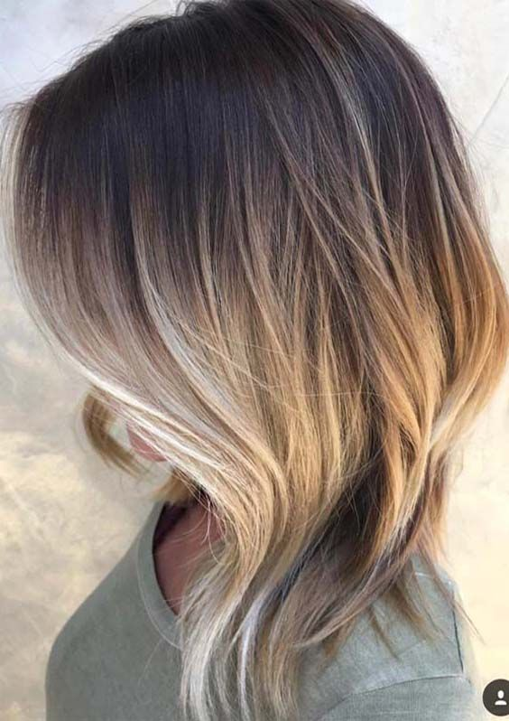 21 Updated Medium Length Ombre Haircuts For 2018 Medium Hair