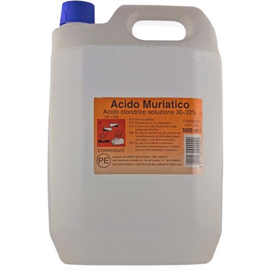 Check Out Our Awesome Product: Acido Cloridrico Puro>>>>>>Acido cloridrico efficace per la rimozione di macchie e ruggine, per sgrassare, disincrostare e sverniciare.  Disponibile in taniche da 5 litri.